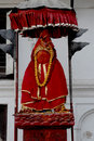 Hanuman Goddess in Kathmandu, Nepal. Royalty Free Stock Photos