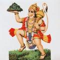 Hanuman - hindu deity Royalty Free Stock Photo