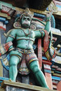 Hanuman - hindu God, king of monkeys Stock Photo