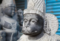 Hanuman monkey god statue in the mamallapuram market tamil nadu india Royalty Free Stock Image