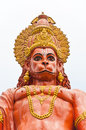 Hanuman statue at Sikkim, India Stock Photography