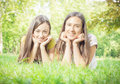 Happines friends enjoyment happiness in the nature Royalty Free Stock Photo