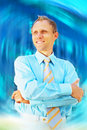 Happiness businessman Royalty Free Stock Photo