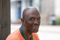 Happy african american man with a toothy smile Royalty Free Stock Photography