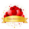 Happy anniversary Royalty Free Stock Photos