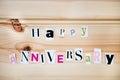 Happy Anniversary Royalty Free Stock Photo
