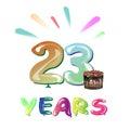 Happy anniversary 23 years