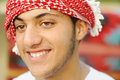Happy arabic teenager is smiling Royalty Free Stock Photography