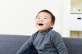 Happy asian boy Stock Images