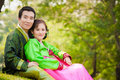 Happy asian couple Royalty Free Stock Photo