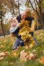 Happy autumn Stock Photography