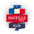 Happy Bastille Day Royalty Free Stock Photo