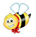 Happy bee Stock Images