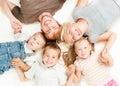 Šťastný veľký rodina