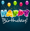 Happy Birthday! Royalty Free Stock Images