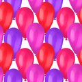 Happy birthday best seamless colorful balloon pattern