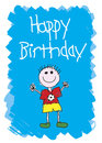 Happy Birthday - Boy Royalty Free Stock Images