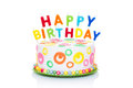 Royalty Free Stock Photography Happy birthday cake