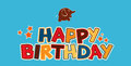 Happy birthday greetings Royalty Free Stock Photos