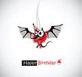 Happy Birthday mouse Royalty Free Stock Photo