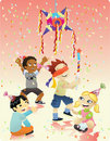 Happy Birthday - Piñata Royalty Free Stock Photography
