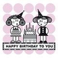 Happy birthday to you Royalty Free Stock Images