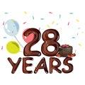 Happy Birthday twenty eight year.