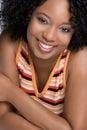 Happy Black Woman Stock Photo