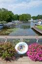 Happy Boating - Life buoy Royalty Free Stock Photo