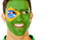 Happy Brazilian man Royalty Free Stock Photos