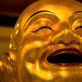 Happy Buddha Stock Photography