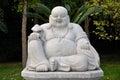 Happy Buddha Statue Royalty Free Stock Photo