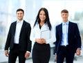 Happy businessman team Royalty Free Stock Photo