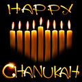Happy Chanukah Royalty Free Stock Photo