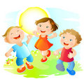 Happy Children Royalty Free Stock Images