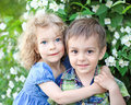 Happy children Royalty Free Stock Photography