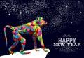 Happy Chinese New Year Monkey ...