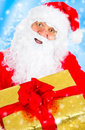 Happy Christmas Santa Stock Photos