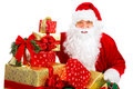 Happy Christmas Santa Stock Photography