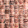 Happy collage Royalty Free Stock Photo