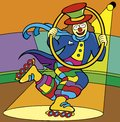 Happy color clown  Royalty Free Stock Images