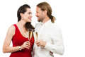 Happy couple looking at eachother Royalty Free Stock Photos