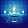 Happy diwali background Royalty Free Stock Image