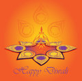 Happy diwali major hindu holiday Stock Photo