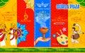 Happy Durga Puja background