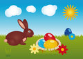 Happy Easter 02 Royalty Free Stock Photography