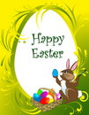 Happy Easter background Stock Images
