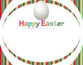 Happy Easter Banner Royalty Free Stock Photos