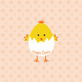 Happy easter beautiful background of Royalty Free Stock Photography