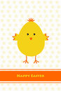 Happy easter beautiful greeting card of Royalty Free Stock Image